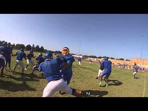 Parsons Vikings Football: QBDB John Feess GoPro Helmet Cam