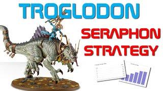 Seraphon Strategy - TROGLODON with SKINK ORACLE - Making Lord Kroak a board wide threat!