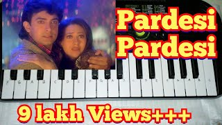 Pardesi pardesi from Raja Hindustani Cover Song on Paino(Cas...
