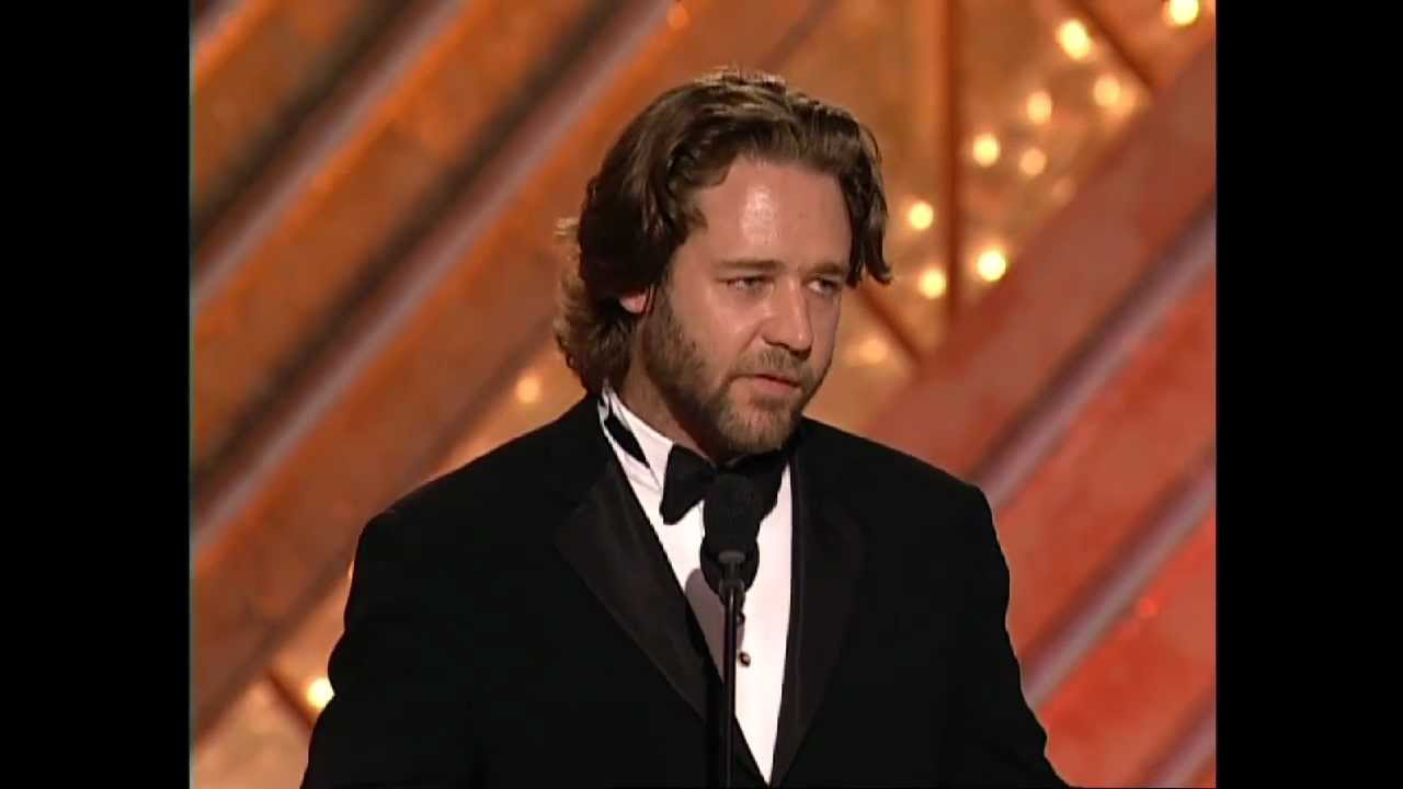 Russell Crowe Wins Best Actor Motion Picture Or Drama Golden Globes