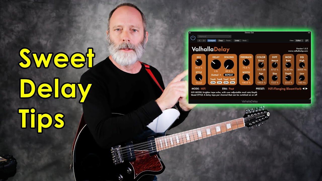 Valhalla Delay Tips | Create Amazing Sounds!