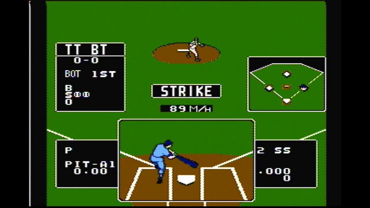 Baseball Stars (NES) Playthrough