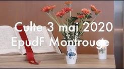Culte 3 mai 2020 Epudf Montrouge