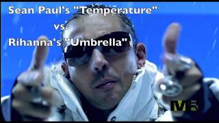 "Mashup ""Temperature vs. Umbrella""-theDJSooP"