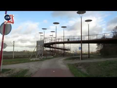 Bicycle bridge Zoetermeer NL