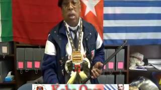 Presiden West Papua Melanesia, Ben Kaisiepo Open Office in New York