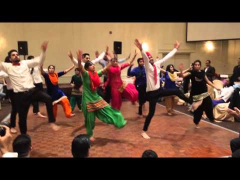ANNUAL PARTY | DUTTA TEAM PERFORMANCE 2015 | BHANGRA
