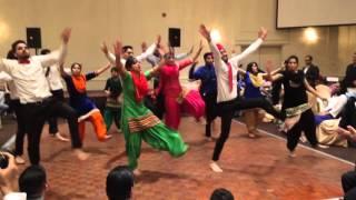 ANNUAL PARTY   DUTTA TEAM PERFORMANCE 2015   BHANGRA