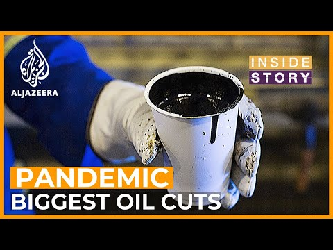 Will record production cuts stop the oil price slump? I Inside Story