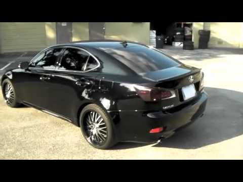 Dubsandtires Com Lexus Is250 Is350 Review 19 Inch Konig Lace Rims
