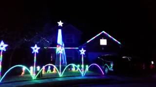 salt river valley lane in eagle springs 2015 christmas lights synced to music