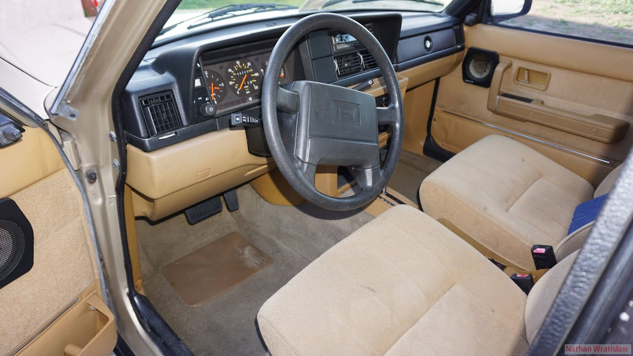 Volvo 240 Video Brick Interior Review 240GL 240DL Car ...