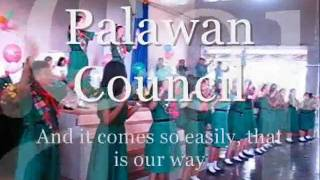 WE CAN CHANGE THE WORLD GIRL SCOUTS OF THE PHILIPPINES PALAWAN
