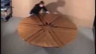 Awesome Folding Wood Table