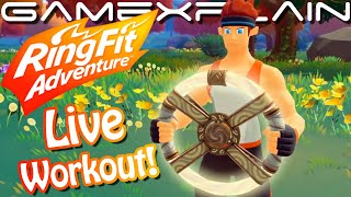 Ring Fit Adventure - 1 Hour Launch Day Livestream!