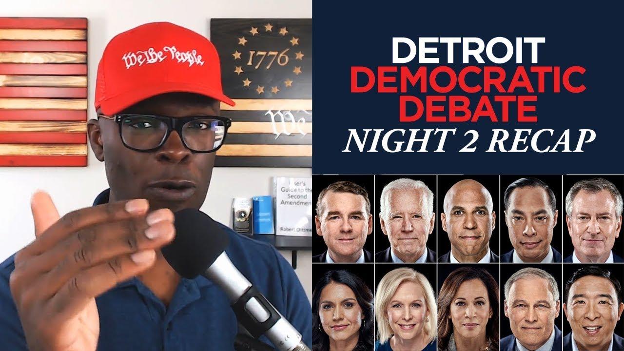 ABL CNN Detroit Democratic Debate Night 2 RECAP (7/31/19)