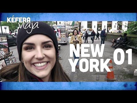 KÉFERA VIAJA - NOVA YORK (dia 1)