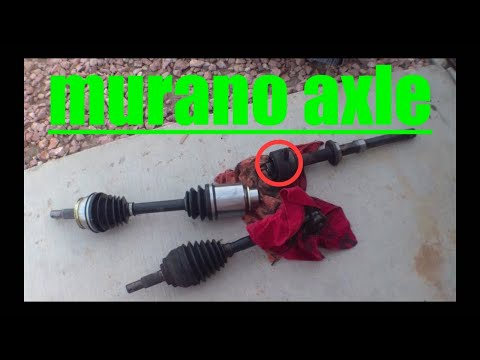 Passenger Side Axle Replacement NISSAN Murano √
