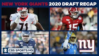 New York Giants add VALUE ACROSS THE BOARD in the NFL Draft | 2020 NFL Draft | CBS Sports HQ
