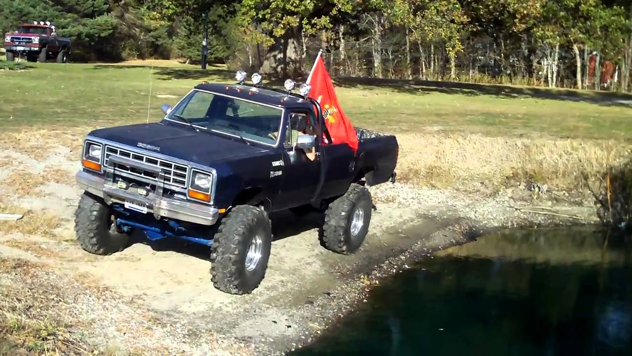 1987 Dodge 4x4 Youtube