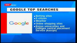 Betting sites top Google search trends results in Kenya