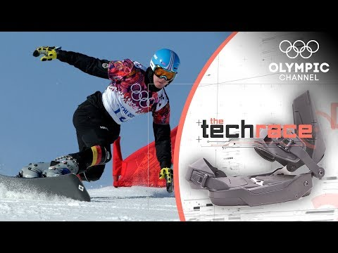 This smart Snowboard improves Balance and Speed | The Tech…