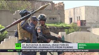 Show museums not rubble  Iraqi forces prevent journos from filming Mosul atrocities