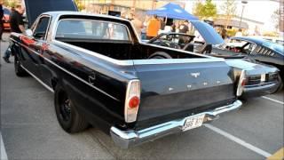 RARE '66 FORD RANCHERO WITH 302 V8 START UP