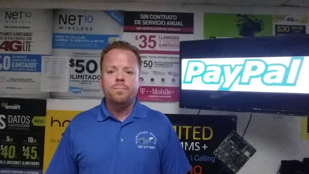 Paypal En Espanol Puerto Rico