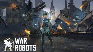War Robot гайд для новичков, обзор Дестроера и оружия на него.