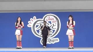 この時間は「お客様と遊びまショー」 今回はチアドラゴンズ2012 斉藤舞...