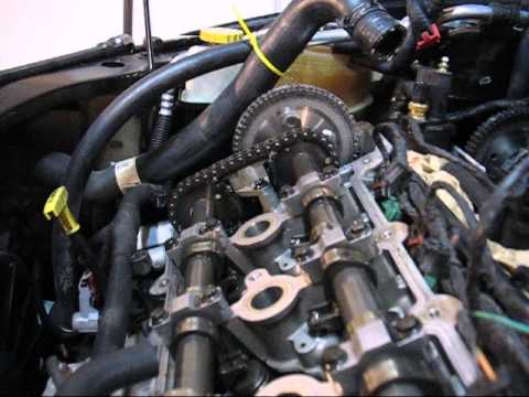 Chrysler 2 7 Engine Camshaft Timing Operation Youtube