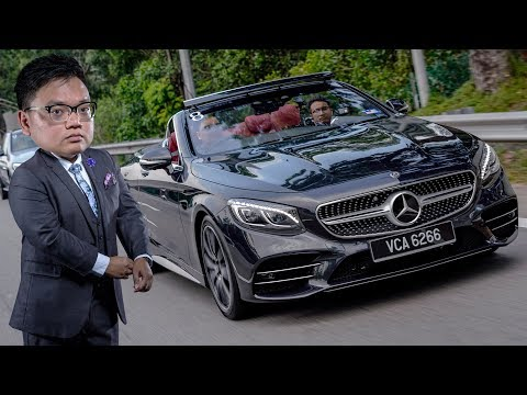 FIRST DRIVE: Mercedes-Benz S560 Cabriolet Malaysian review - RM1.4 mil