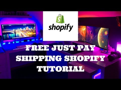 Free Just Pay Shipping Shopify Tutorial
