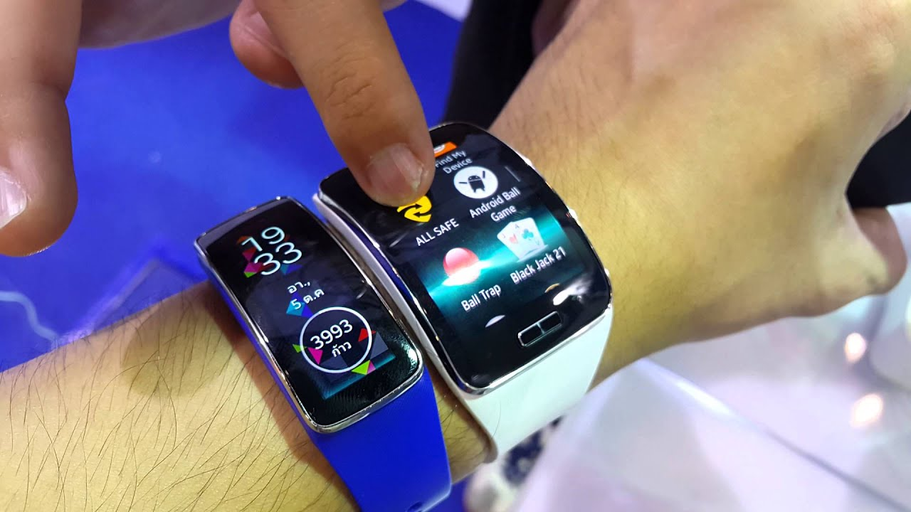 review samsung gear s vs gear fit youtube. Black Bedroom Furniture Sets. Home Design Ideas