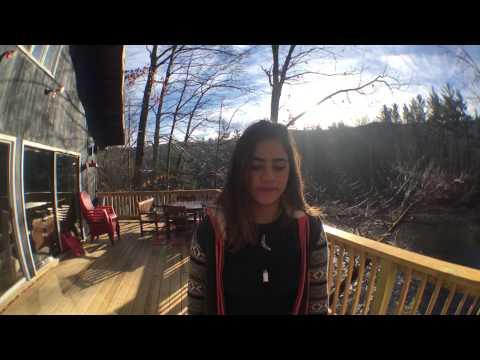 Michelle Nascimento e Lavinea nas montanhas