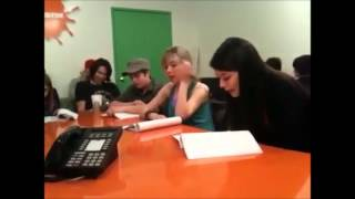 Footage From An iCarly Table Read! - (iSpaceOut)