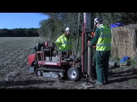 Borehole familiarisation event | Drilling with a Dando Terrier