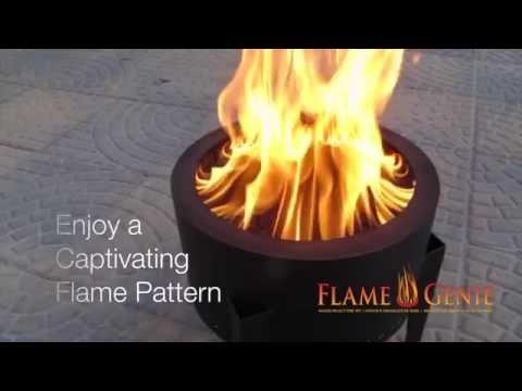 Pellet Fire Pit Flame Genie Doovi