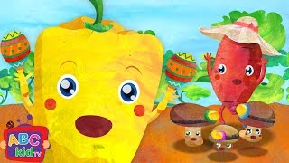 Vegetables Song 2 | Nursery Rhymes & Kids Songs – ABCkidTV