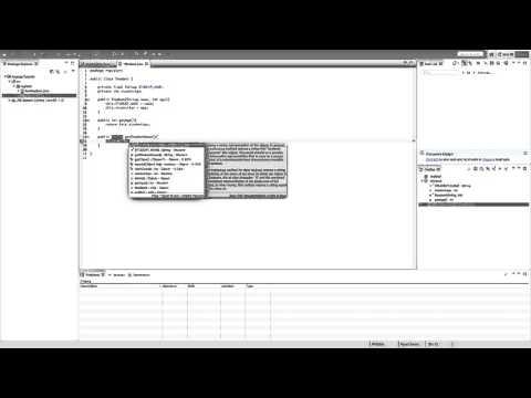 Creating a School Register in Java - 01