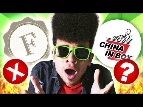RETORNO DAS LOJAS FOCO E CHATEADO COM O CHINA IN BOX - Rik