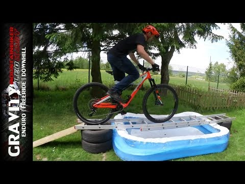 MTB Games #2 ( Enduro Parcours   Garten Trail   Game Of Bike Challenge) Teil 2/2 Leo Kast