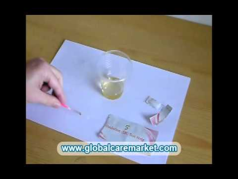 How to use LH Ovulation Test Strip at Home (by Globalcaremarket.com)