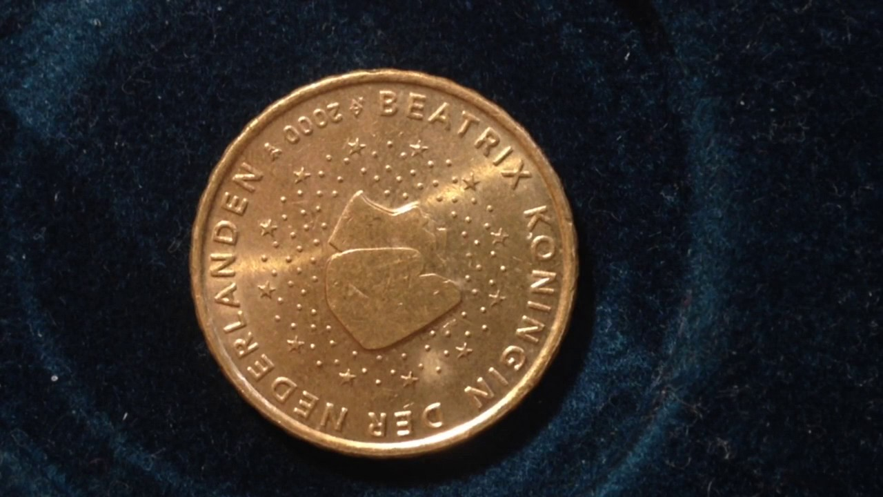 10 Euro Cent Beatrix Coin Dated 2000 Youtube