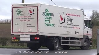 learn to drive a truck and pass your test in 5 days