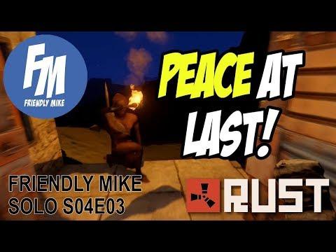 PEACE AT LAST! | Rust Solo Survival S04E03