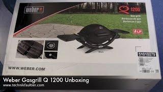 Weber Gasgrill Q 1200 Unboxing