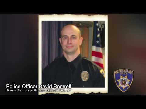 Officer Down Memorial Song Tribute -  Police Officer David Romrell, South Salt Lake Police Dept.