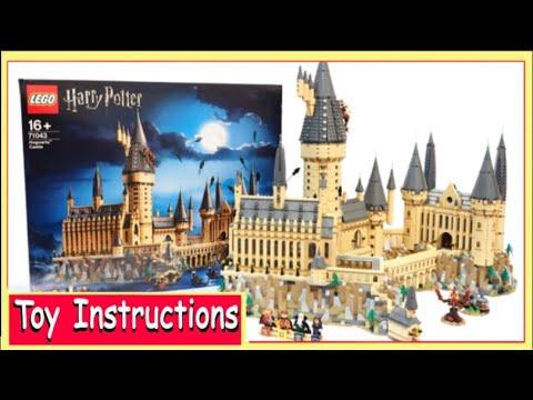 How To Build Lego Harry Potter Hogwarts Castle 4709 Instructions